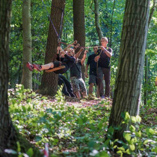 Teambuilding v přírodě